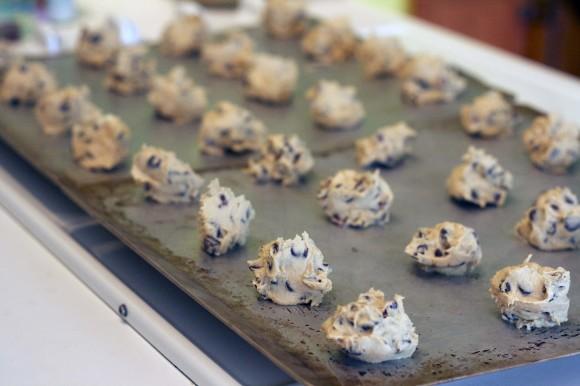 PB Craisin Chip Cookies001