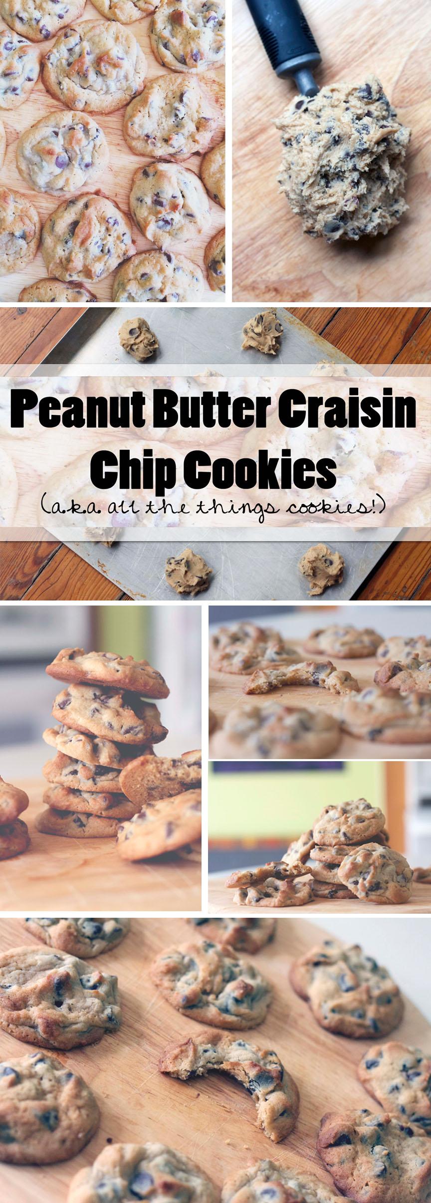Peanut Butter Chip Craisin Cookies Pintierest