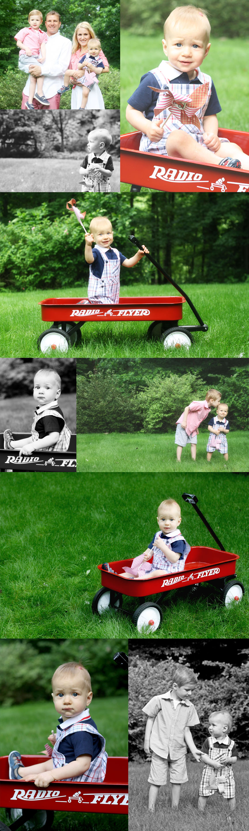 Radio Flyer First Birthday Mini