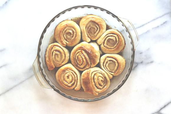 Fall Spice Cinnamon Buns001