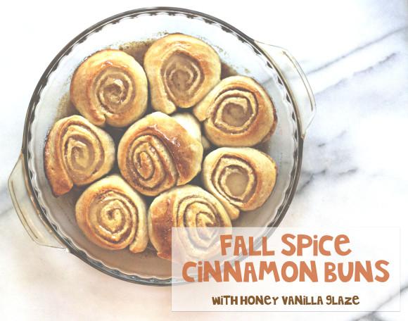 Fall Spice Cinnamon Buns010