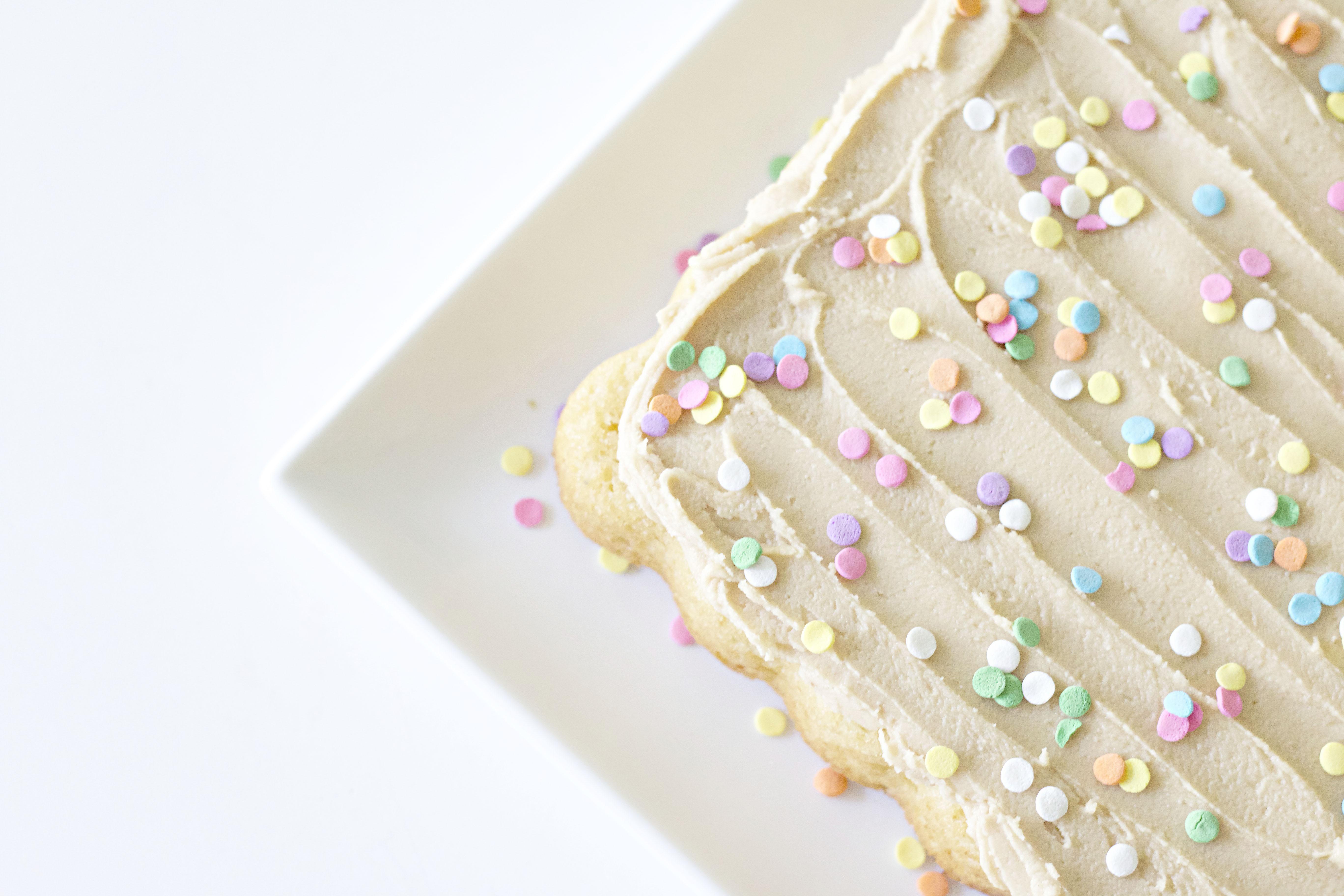 The Ultimate Vanilla Cake