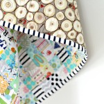 Finished Postage Stamp Baby Quilt