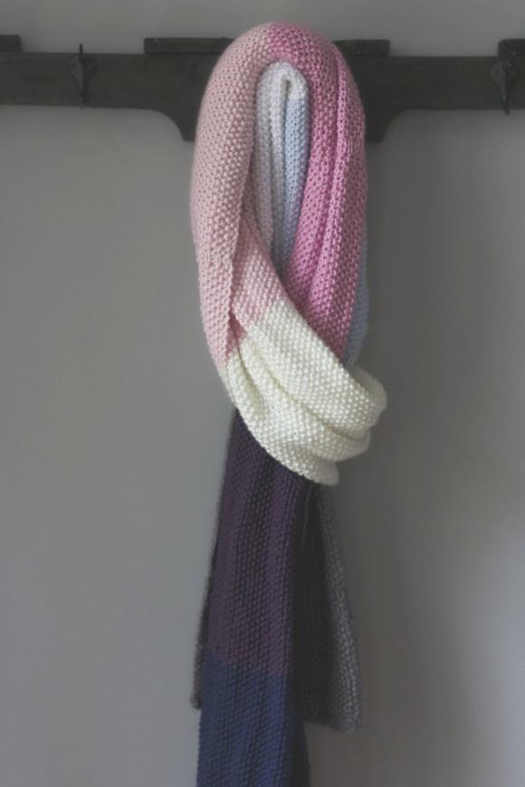 knit seed stitch wrap06