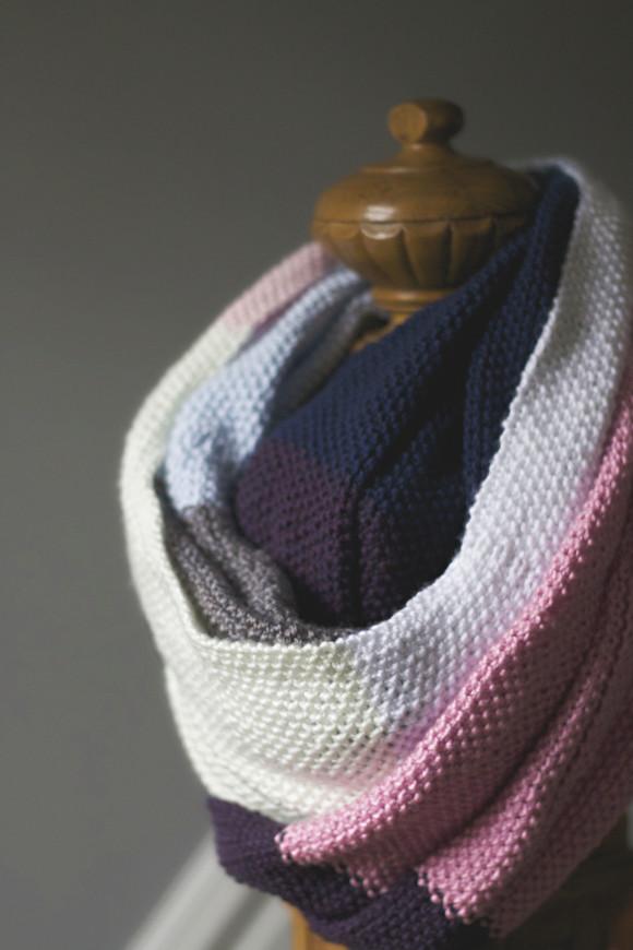 knit seed stitch wrap07