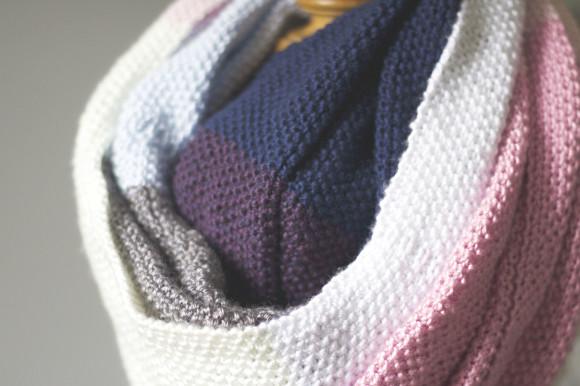 knit seed stitch wrap08