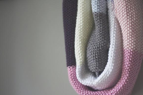 knit seed stitch wrap09