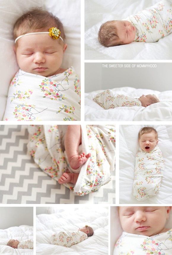 Newborn Bouquet Swaddle Collage2