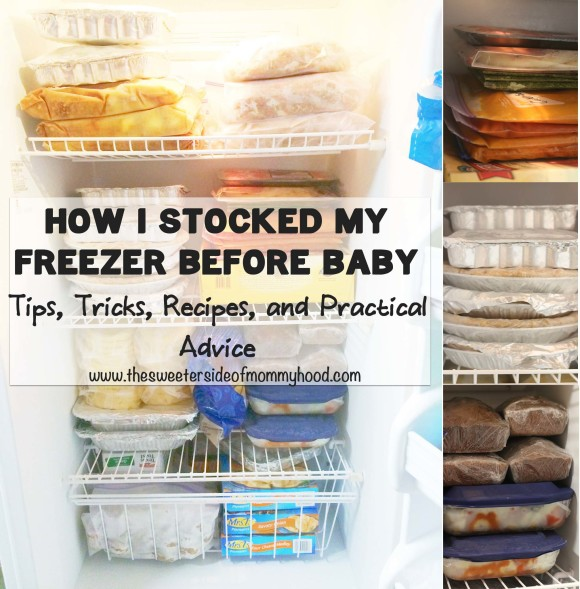 Stock your freezer before baby17