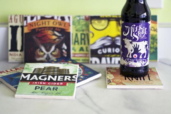 DIY Beer Box Coasters10