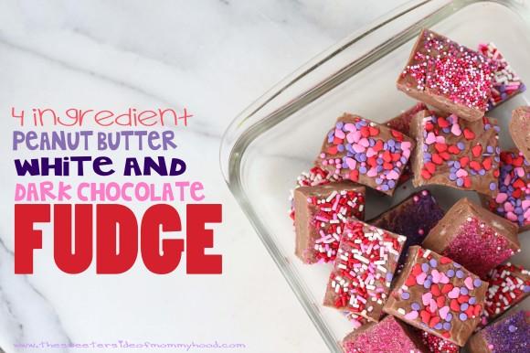 4 ingredient fudge 8