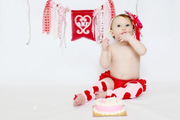 Smash Cake and Birthday Balloons2