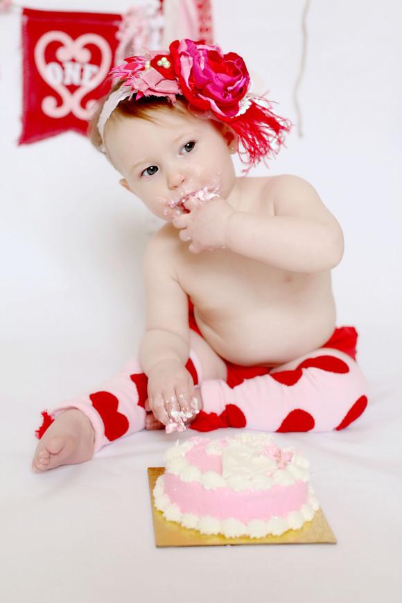 Smash Cake and Birthday Balloons3