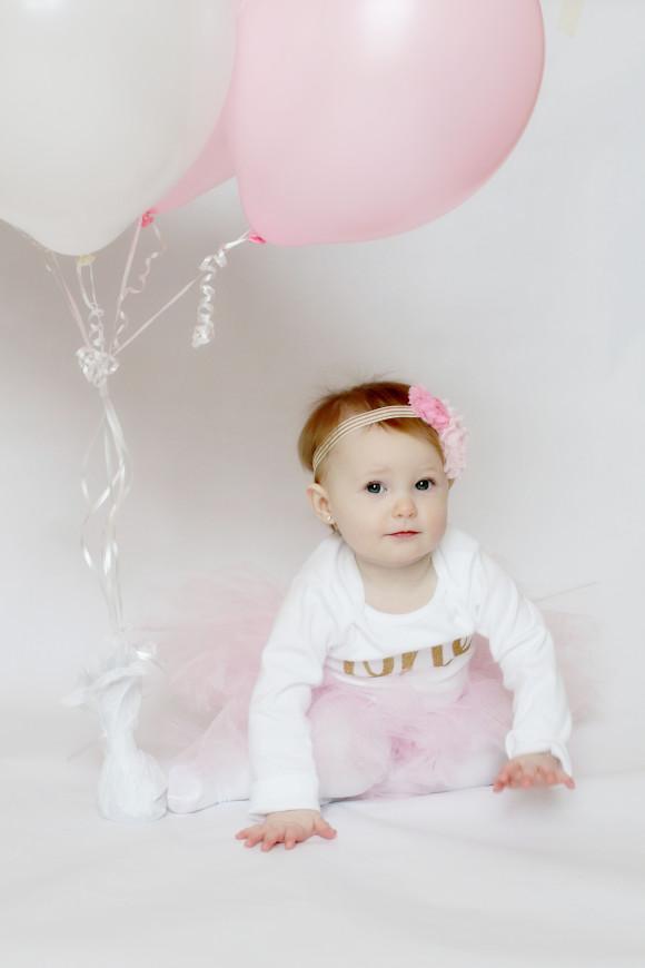 Smash Cake and Birthday Balloons4