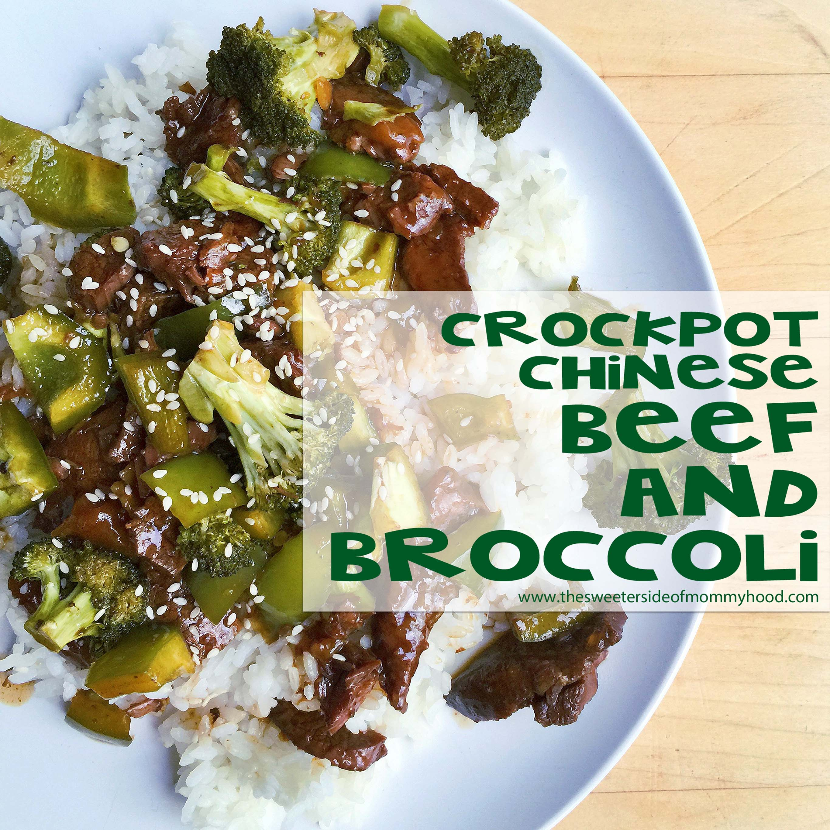Crockpot Beef And Broccoli (It really is better than takeout!)