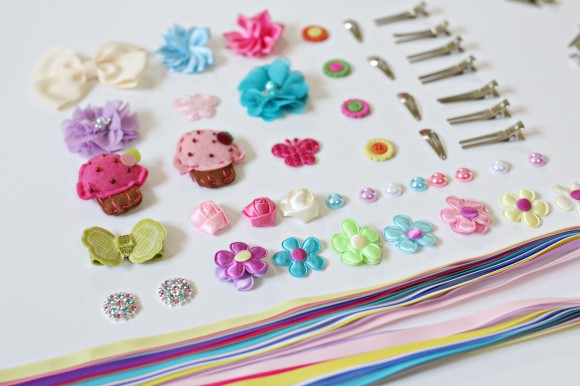 DIY Hair Clips and Accessories 1