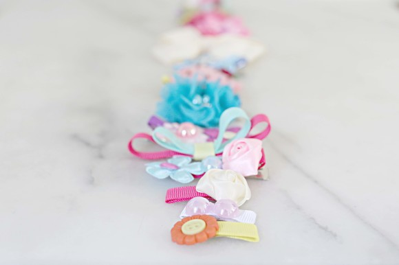 DIY Hair Clips and Accessories 7