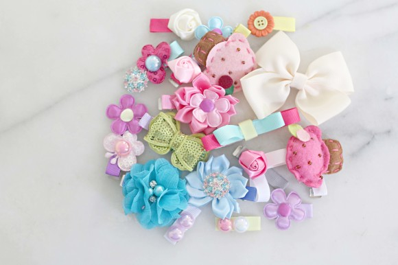 DIY Hair Clips and Accessories 8