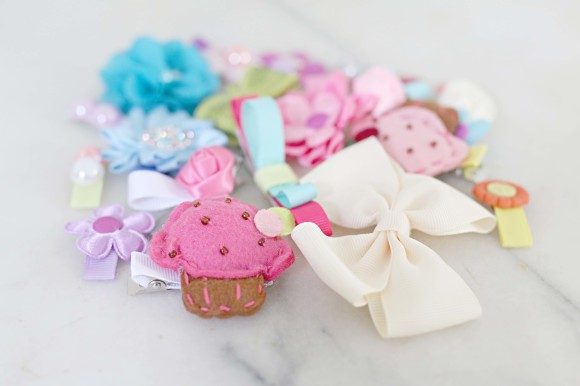 DIY Hair Clips and Accessories 9