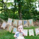 First Birthday Smash Cake : Pittsburgh Children's Photographer