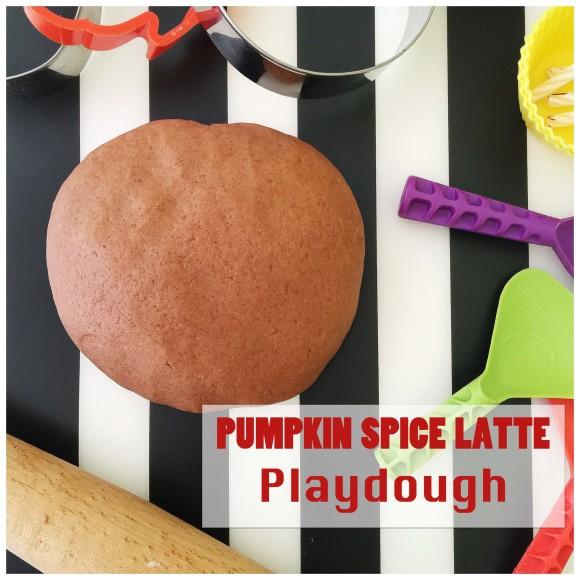 Pumpkin Spice Latte Playdough2