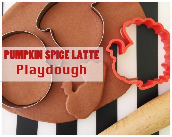 Pumpkin Spice Latte Playdough4
