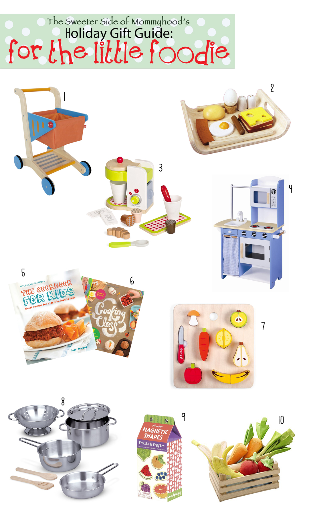 12 Days of Gift Guides: For The Little Foodie