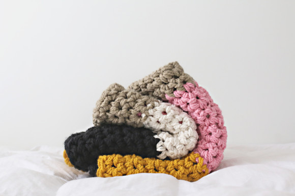Chunky crochet blanket11