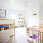 Creating a Functional (and cute!) Shared Bedroom for Three Kids