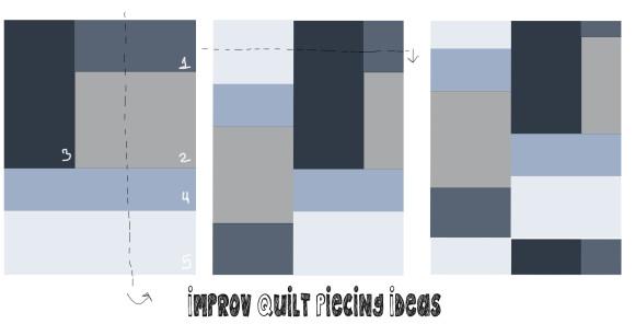 improv quilt graphic