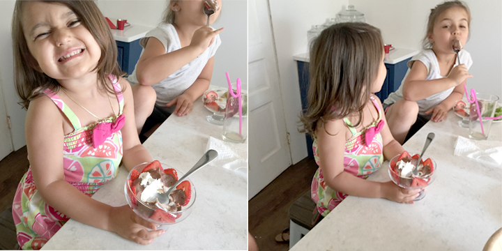 kids-eating-gracies-chocolate-mousse