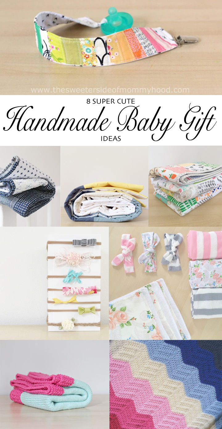 Handmade Baby Gift Idea Roundup The Sweeter Side Of