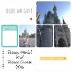 Making a Digital Disney Scrapbook using the Project Life App