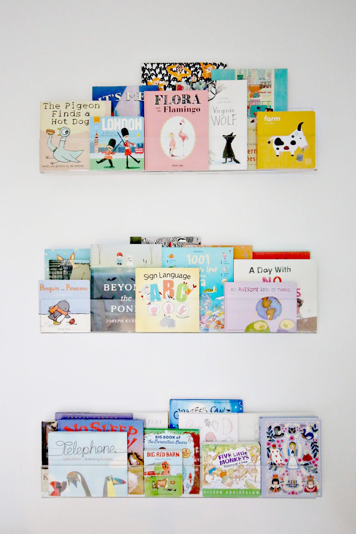 clear-bookshelves