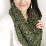 Chunky Tweed Stair Stitch Cowls