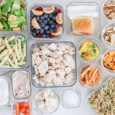 Sunday Meal Prep for kids: PACKED LUNCH