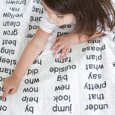 Make Your Own Sight Words Quilt