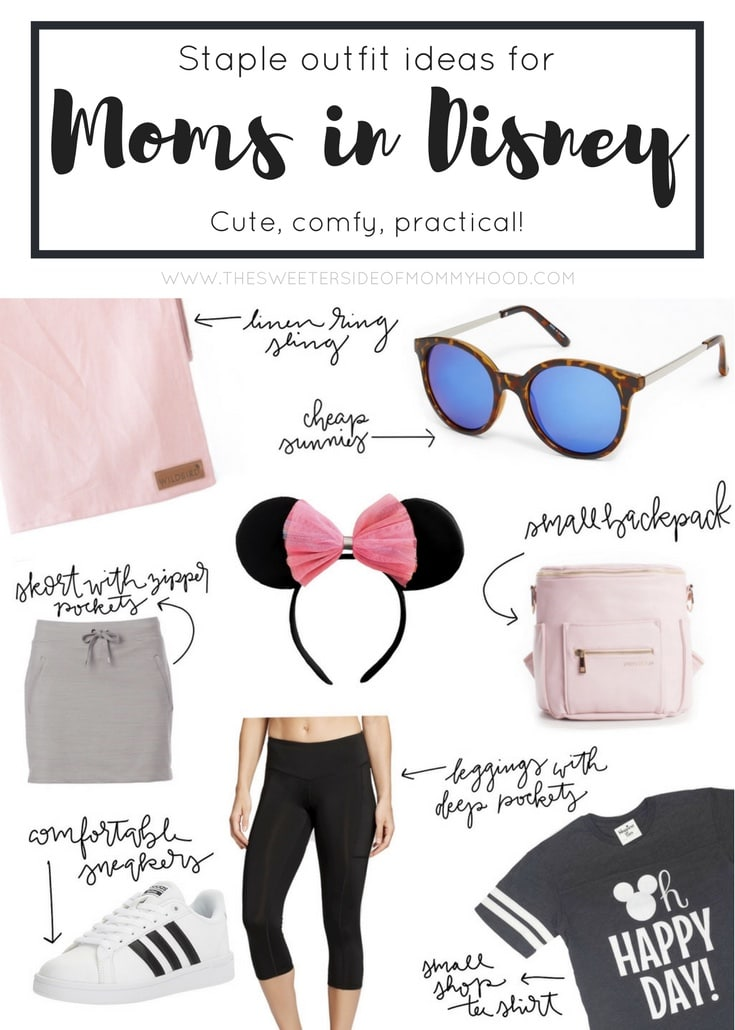 outfit ideas for moms in disney
