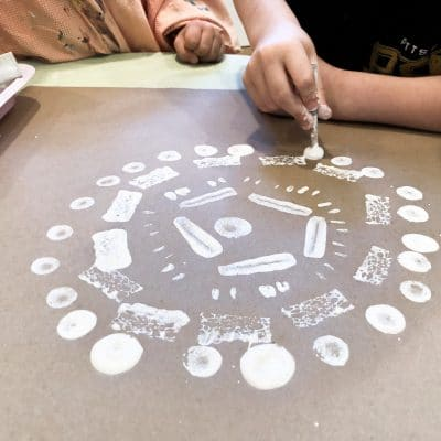 Radial Symmetry with Preschool and Kindergarten
