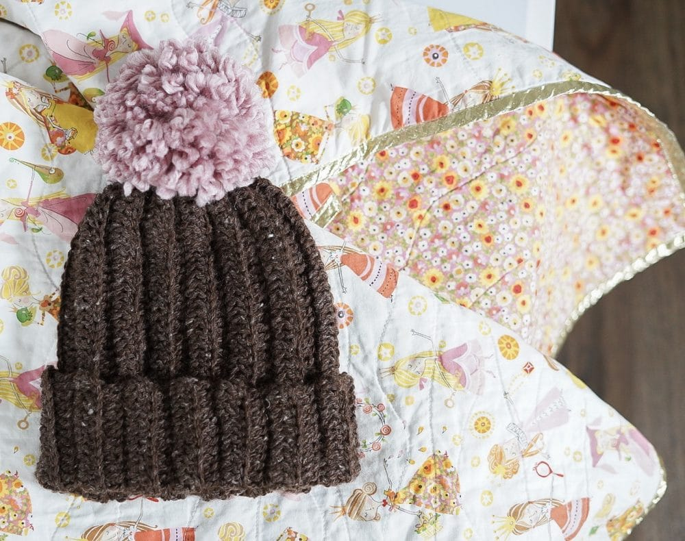 Easy. Crochet hat tutorial