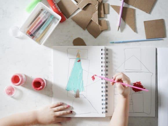 Shape Tracers Free Sketchbook Prompt