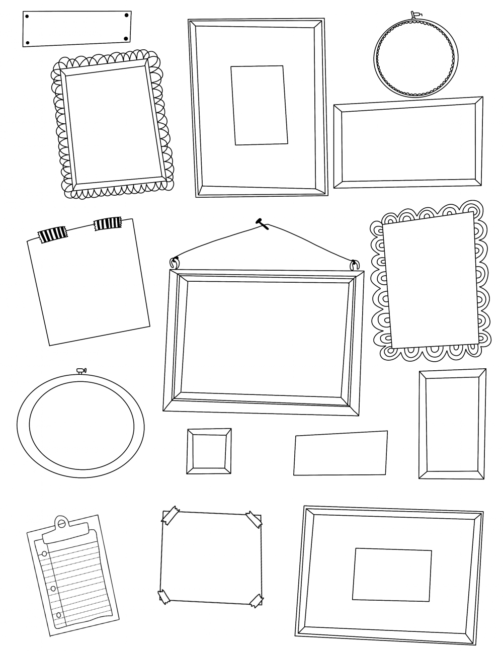 Cool Coloring Pages That You Can Print - Coloring Home   1294x1000