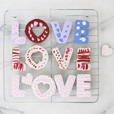 Play Kitchen Food: Cardboard Sugar Cookies
