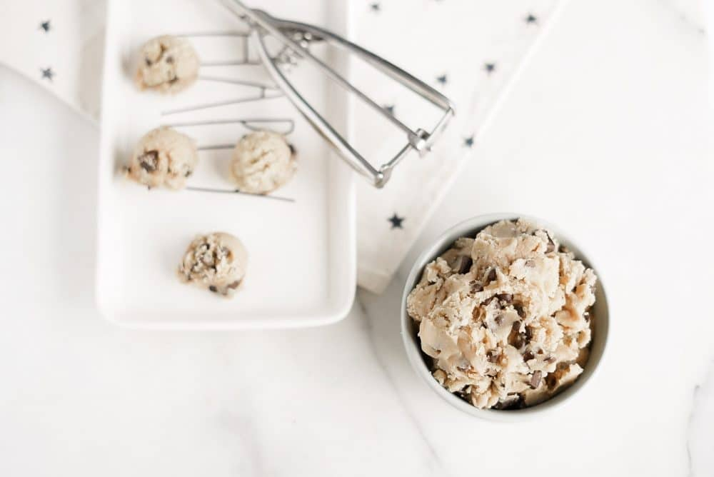 No egg cookie dough