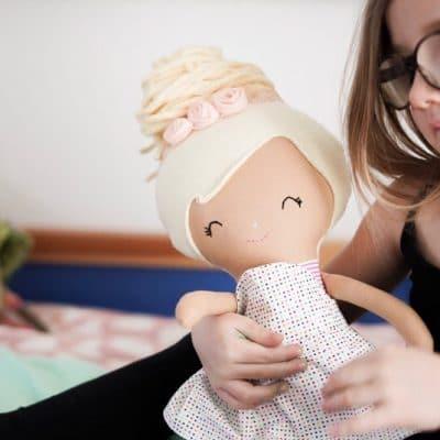 Cloth Dolls by Ellie and Fern