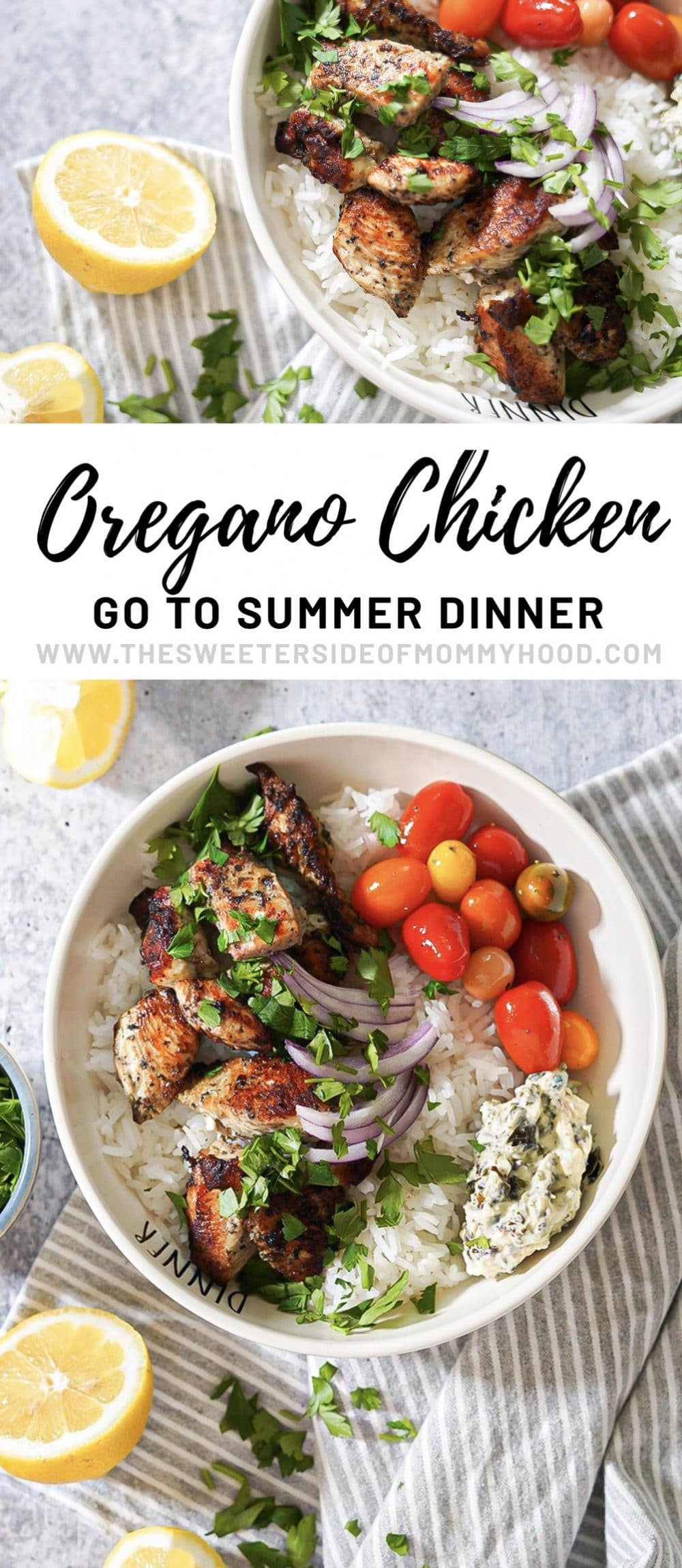 Easy grilled oregano chicken