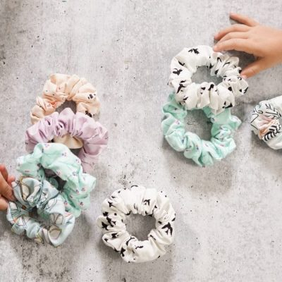DIY Scrunchies And a No-Sew Option!