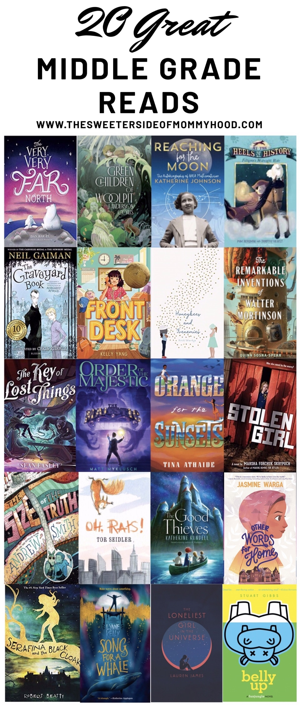 20 Great Middle Grade Reads