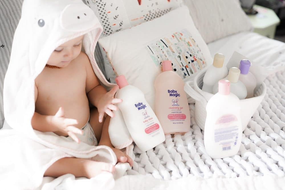 New Baby Magic lotion