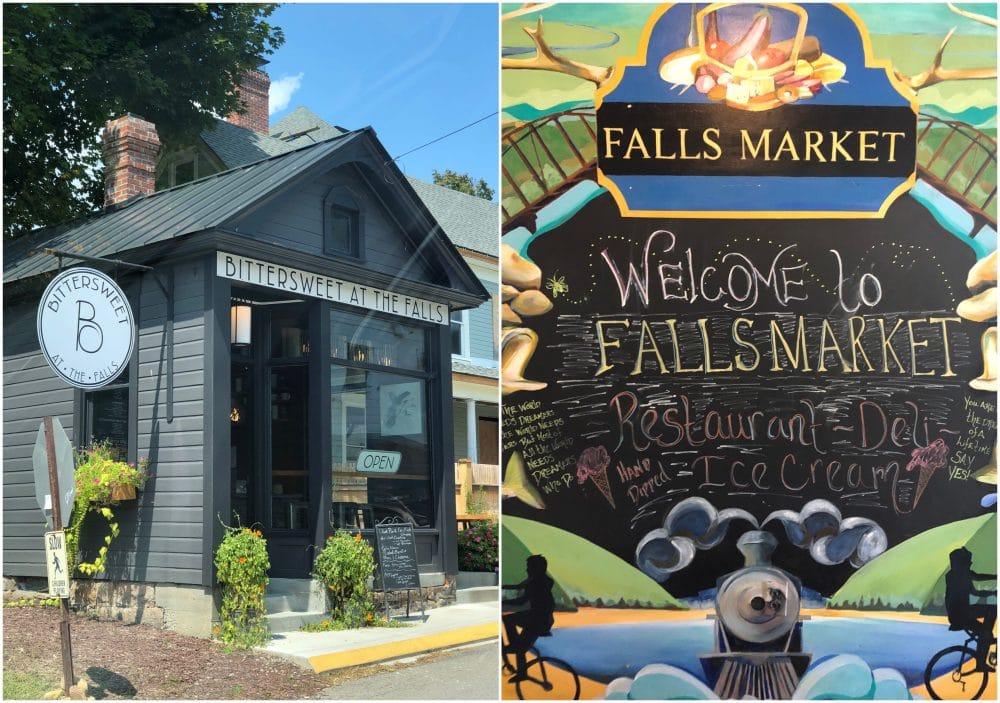 Falls market in Ohiopyle